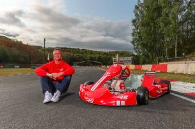 "Ralf Schumacher launches RS Kart because ""Karting will never be boring"""