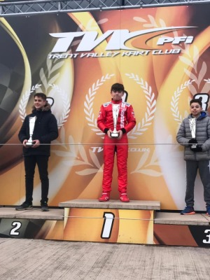 RS Kart Takes 1st UK Victory